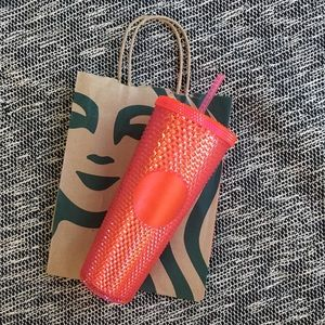 Starbucks Limited Edition Pink Studded Tumbler